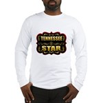 Tennessee Star Gold Badge Sea Long Sleeve T-Shirt