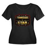 Tennessee Star Gold Badge Sea Women's Plus Size Sc