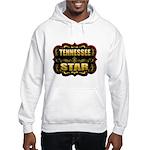 Tennessee Star Gold Badge Sea Hooded Sweatshirt