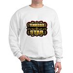 Tennessee Star Gold Badge Sea Sweatshirt