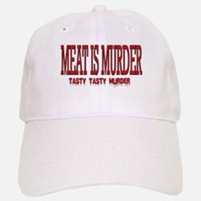 MEAT IS MURDER... Baseball Baseball Cap