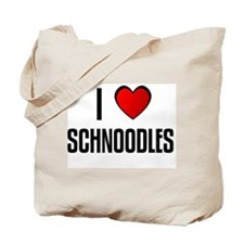 I LOVE SCHNOODLES Tote Bag