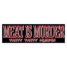 MEAT IS MURDER... Bumper Bumper Sticker