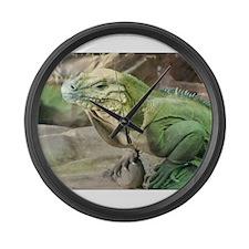 Iguana Large Wall Clock