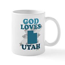 God Loves Utah Mug