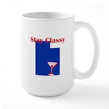 Stay Classy Utah Mug