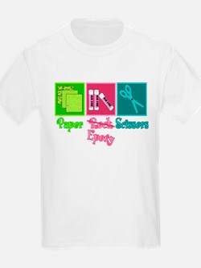 Paper, Epoxy, Scissors T-Shirt