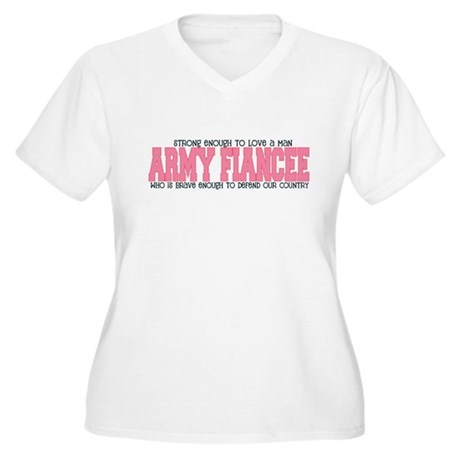 Strong Enough [Army Fiancee] Women's Plus Size V-N