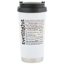 Twilight Quotes Travel Mug