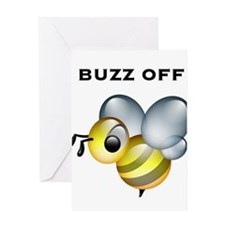 Buzz Off! Greeting Card