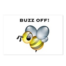 Buzz Off! Postcards (Package of 8)