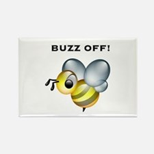 Buzz Off! Rectangle Magnet