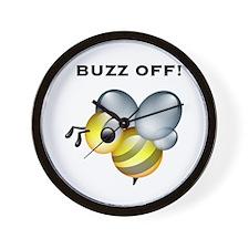 Buzz Off! Wall Clock