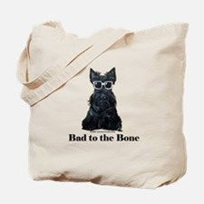 Scottie Bad to the Bone Tote Bag