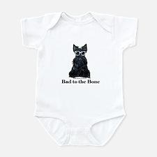 Scottie Bad to the Bone Infant Bodysuit
