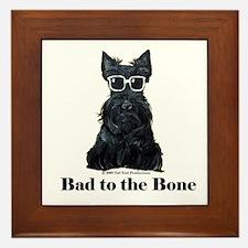 Scottie Bad to the Bone Framed Tile