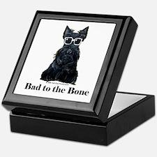 Scottie Bad to the Bone Keepsake Box