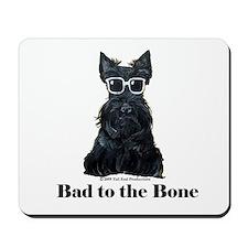 Scottie Bad to the Bone Mousepad