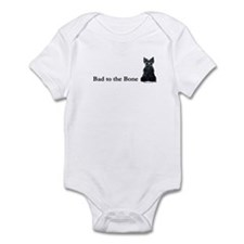 Scottie Bad to the Bone Infant Bodysuit
