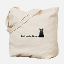Scottie Bad to the Bone Tote Bag