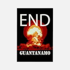 End Guantanamo Rectangle Magnet