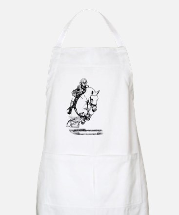 show jumping horse BBQ Apron