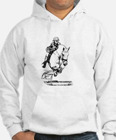 show jumping horse Hoodie