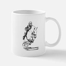 show jumping horse Mug