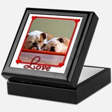 Love Bulldogs Keepsake Box