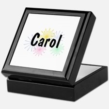 Personalized Carol Keepsake Box
