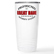 Great Dane Security Travel Mug