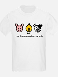 Cute Meat Kids T-Shirt