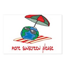 More Sunscreen Please! Postcards (Package of 8)