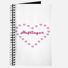 Haflinger Valentine Journal