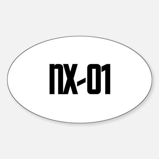 NX-01 Oval Decal