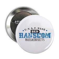 """Hanscom Air Force Base 2.25"""" Button"""