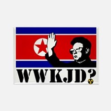 What Would Kim Jong Do? Rectangle Magnet
