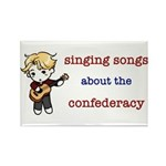 Confederacy Rectangle Magnet (10 pack)