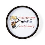 Confederacy Wall Clock
