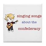 Confederacy Tile Coaster