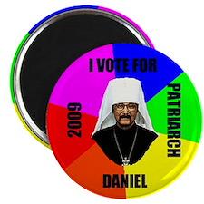 I Vote for Daniel to Patriarch Magnet