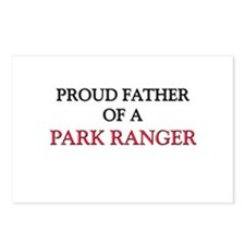 Proud Father Of A PARK RANGER Postcards (Package o