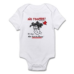 Not Touchie! Infant Bodysuit