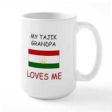 My Tajik Grandpa Loves Me Mug