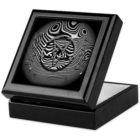 HAIL EVIL Pentagram ~ Evil Keepsake Box