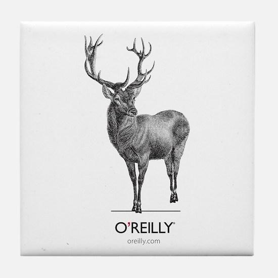 Red Deer Tile Coaster