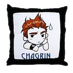 Chagrin Throw Pillow