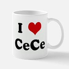 I Love CeCe Mug