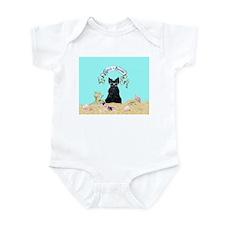 Scottish Terrier Summer Infant Bodysuit