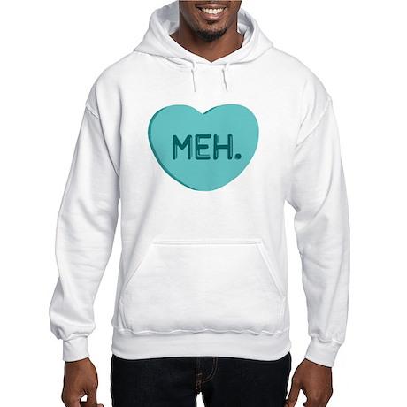 Meh Candy Heart Hooded Sweatshirt
